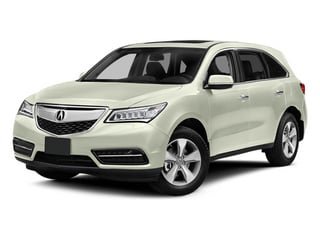 White Diamond Pearl 2014 Acura MDX Pictures MDX Utility 4D AWD V6 photos front view
