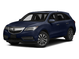Fathom Blue Pearl 2014 Acura MDX Pictures MDX Utility 4D Technology DVD AWD V6 photos front view