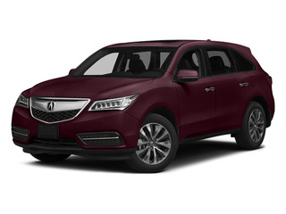 Dark Cherry Pearl 2014 Acura MDX Pictures MDX Utility 4D Technology DVD AWD V6 photos front view