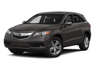 Graphite Luster Metallic 2014 Acura RDX Pictures RDX Utility 4D AWD V6 photos front view