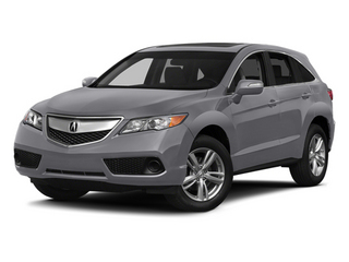 Forged Silver Metallic 2014 Acura RDX Pictures RDX Utility 4D AWD V6 photos front view