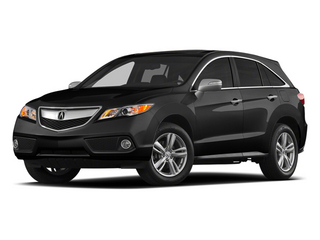 Crystal Black Pearl 2014 Acura RDX Pictures RDX Utility 4D Technology 2WD V6 photos front view