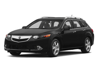 Crystal Black Pearl 2014 Acura TSX Sport Wagon Pictures TSX Sport Wagon 4D I4 photos front view