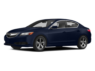 Fathom Blue Pearl 2014 Acura ILX Pictures ILX Sedan 4D I4 photos front view