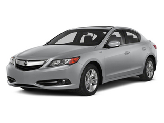 Silver Moon 2014 Acura ILX Pictures ILX Sedan 4D Hybrid Technology I4 photos front view