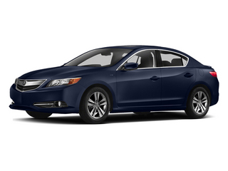 Fathom Blue Pearl 2014 Acura ILX Pictures ILX Sedan 4D Hybrid I4 photos front view