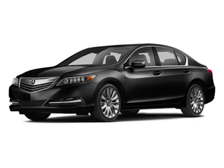 Crystal Black Pearl 2014 Acura RLX Pictures RLX Sedan 4D Advance V6 photos front view