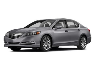 Forged Silver Metallic 2014 Acura RLX Pictures RLX Sedan 4D Advance V6 photos front view