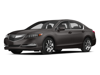 Graphite Luster Metallic 2014 Acura RLX Pictures RLX Sedan 4D Navigation V6 photos front view