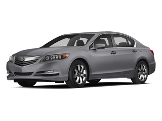 Forged Silver Metallic 2014 Acura RLX Pictures RLX Sedan 4D Navigation V6 photos front view