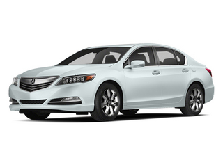 Bellanova White Pearl 2014 Acura RLX Pictures RLX Sedan 4D Navigation V6 photos front view
