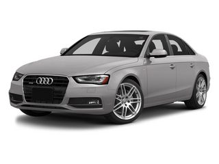 Cuvee Silver Metallic 2014 Audi A4 Pictures A4 Sedan 4D 2.0T Prestige AWD photos front view