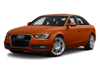 Volcano Red Metallic 2014 Audi A4 Pictures A4 Sedan 4D 2.0T Prestige AWD photos front view