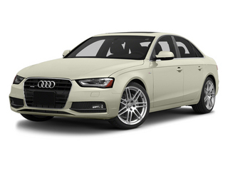 Glacier White Metallic 2014 Audi A4 Pictures A4 Sedan 4D 2.0T Prestige AWD photos front view