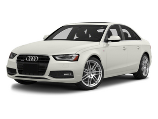 Ibis White 2014 Audi A4 Pictures A4 Sedan 4D 2.0T Prestige AWD photos front view