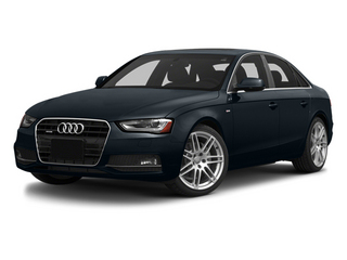 Moonlight Blue Metallic 2014 Audi A4 Pictures A4 Sedan 4D 2.0T Prestige AWD photos front view