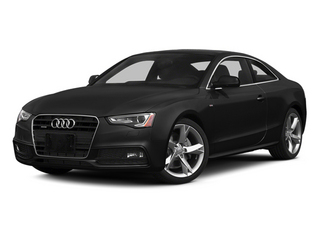 Phantom Black Pearl Effect 2014 Audi A5 Pictures A5 Coupe 2D Prestige AWD photos front view