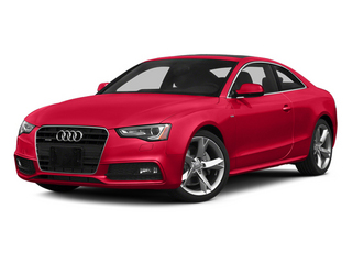 Misano Red 2014 Audi A5 Pictures A5 Coupe 2D Premium Plus AWD photos front view