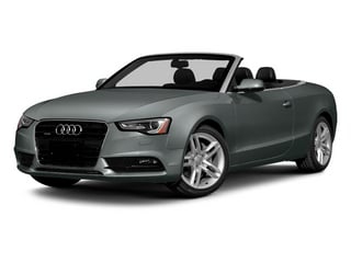 Monsoon Gray Metallic/Black Roof 2014 Audi A5 Pictures A5 Convertible 2D Premium 2WD photos front view