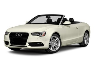 Glacier White Metallic/Black Roof 2014 Audi A5 Pictures A5 Convertible 2D Premium 2WD photos front view