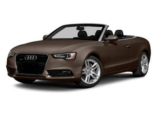Teak Brown Metallic/Black Roof 2014 Audi A5 Pictures A5 Convertible 2D Premium 2WD photos front view