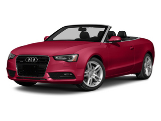 Brilliant Red/Black Roof 2014 Audi A5 Pictures A5 Convertible 2D Premium 2WD photos front view