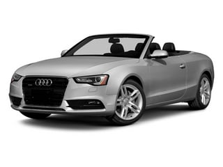 Ice Silver Metallic/Black Roof 2014 Audi A5 Pictures A5 Convertible 2D Premium 2WD photos front view