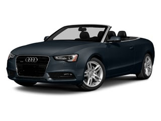 Moonlight Blue Metallic/Black Roof 2014 Audi A5 Pictures A5 Convertible 2D Premium AWD photos front view