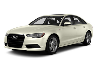Glacier White Metallic 2014 Audi A6 Pictures A6 Sedan 4D 2.0T Premium Plus AWD photos front view