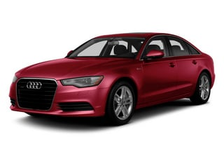 Garnet Red Pearl Effect 2014 Audi A6 Pictures A6 Sedan 4D 2.0T Premium Plus AWD photos front view