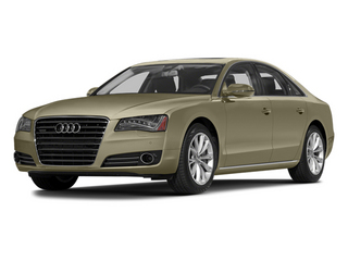 Savana Beige Pearl Effect 2014 Audi A8 Pictures A8 Sedan 4D 4.0T AWD V8 Turbo photos front view
