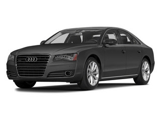 Moonlight Blue Metallic 2014 Audi A8 Pictures A8 Sedan 4D 4.0T AWD V8 Turbo photos front view