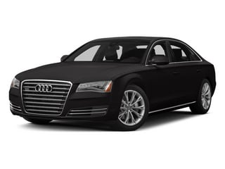 Oolong Gray Metallic 2014 Audi A8 L Pictures A8 L Sedan 4D 3.0T L AWD V6 Turbo photos front view
