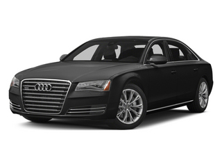 Phantom Black Pearl Effect 2014 Audi A8 L Pictures A8 L Sedan 4D 3.0T L AWD V6 Turbo photos front view
