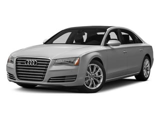 Ice Silver Metallic 2014 Audi A8 L Pictures A8 L Sedan 4D 3.0T L AWD V6 Turbo photos front view