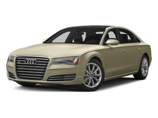 Savana Beige Pearl Effect 2014 Audi A8 L Pictures A8 L Sedan 4D 3.0T L AWD V6 Turbo photos front view