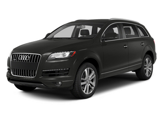 Lava Gray Pearl Effect 2014 Audi Q7 Pictures Q7 Utility 4D 3.0 TDI Premium AWD photos front view