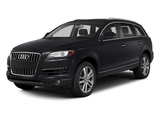 Orca Black Metallic 2014 Audi Q7 Pictures Q7 Utility 4D 3.0 Prestige S-Line AWD photos front view