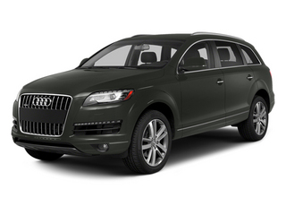 Daytona Gray Pearl Effect 2014 Audi Q7 Pictures Q7 Utility 4D 3.0 TDI Premium AWD photos front view