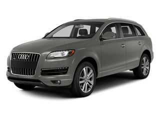 Graphite Gray Metallic 2014 Audi Q7 Pictures Q7 Utility 4D 3.0 Prestige S-Line AWD photos front view