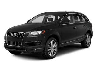 Night Black 2014 Audi Q7 Pictures Q7 Utility 4D 3.0 Prestige S-Line AWD photos front view