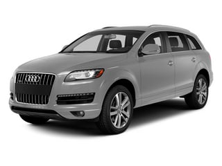 Ice Silver Metallic 2014 Audi Q7 Pictures Q7 Utility 4D 3.0 Prestige S-Line AWD photos front view