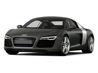 Daytona Gray Pearl Effect 2014 Audi R8 Pictures R8 2 Door Coupe Quattro V8 (Manual) photos front view