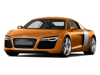 Samoa Orange Metallic 2014 Audi R8 Pictures R8 2 Door Coupe Quattro V8 (Manual) photos front view