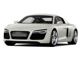 Ibis White 2014 Audi R8 Pictures R8 2 Door Coupe Quattro V8 (Manual) photos front view