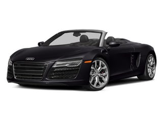 Panther Black Crystal Effect/Black Roof 2014 Audi R8 Pictures R8 2 Door Convertible Quattro Spyder V8 (Auto) photos front view
