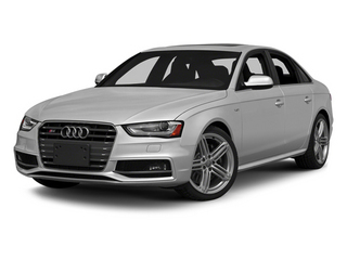 Ice Silver Metallic 2014 Audi S4 Pictures S4 Sedan 4D S4 Prestige AWD photos front view