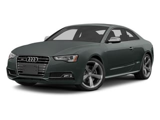 Monsoon Gray Metallic 2014 Audi S5 Pictures S5 Coupe 2D S5 Premium Plus AWD photos front view