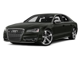 Daytona Gray Pearl Effect 2014 Audi S8 Pictures S8 Sedan 4D S8 AWD V8 Turbo photos front view