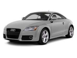 Ice Silver Metallic 2014 Audi TT Pictures TT Coupe 2D AWD photos front view